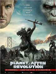 Planet der Affen - Revolution - Poster